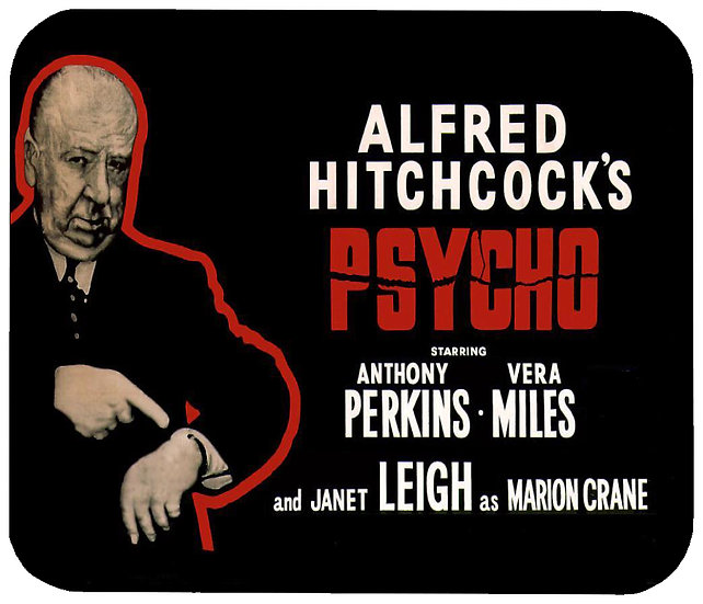PSYCHO (ALFRED HITCHCOCK) MOUSE PAD