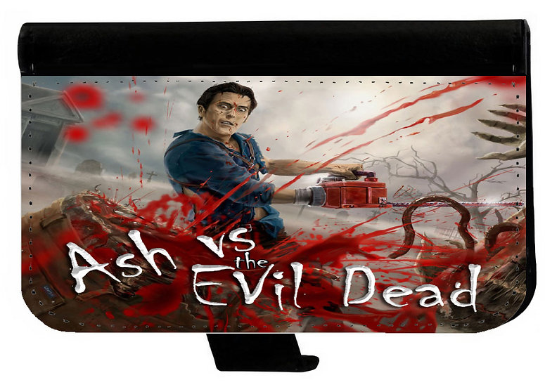 ASH VS EVIL DEAD (03) - LEATHER WALLET