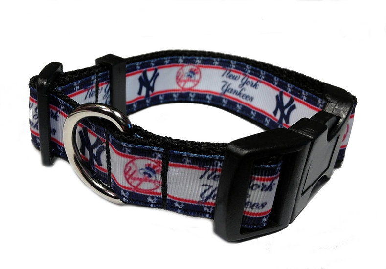 NEW YORK YANKEES DOG COLLAR