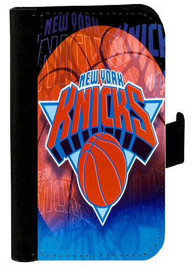 NEW YORK KNICKS IPHONE OR GALAXY CELL PHONE CASE WALLET