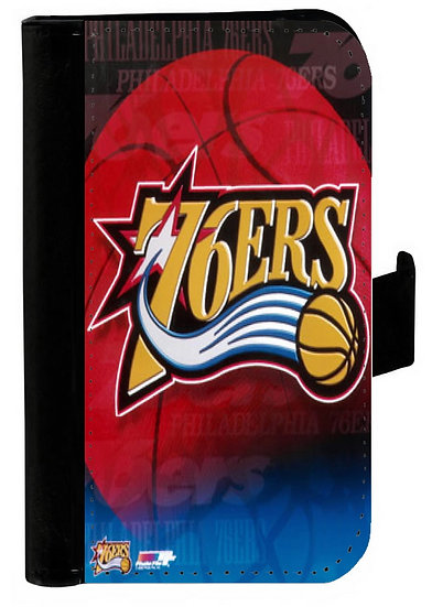 PHILADELPHIA 76ERS - LEATHER WALLET