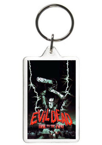 EVIL DEAD (HAIL TO THE KING) KEYCHAIN