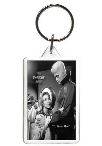 TWILIGHT ZONE (TO SERVE MAN) KEY CHAIN