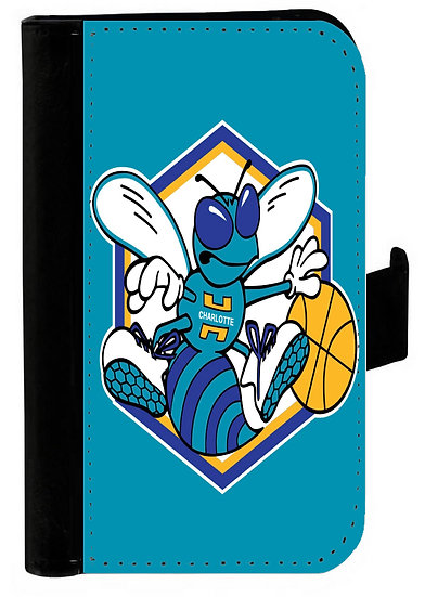 CHARLOTTE HORNETS - LEATHER WALLET
