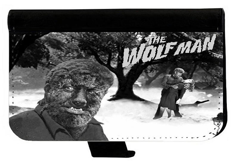 WOLF MAN - LEATHER WALLET