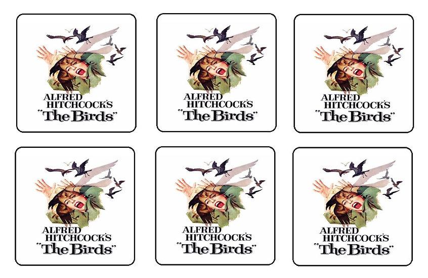 THE BIRDS BEVERAGE COASTERS