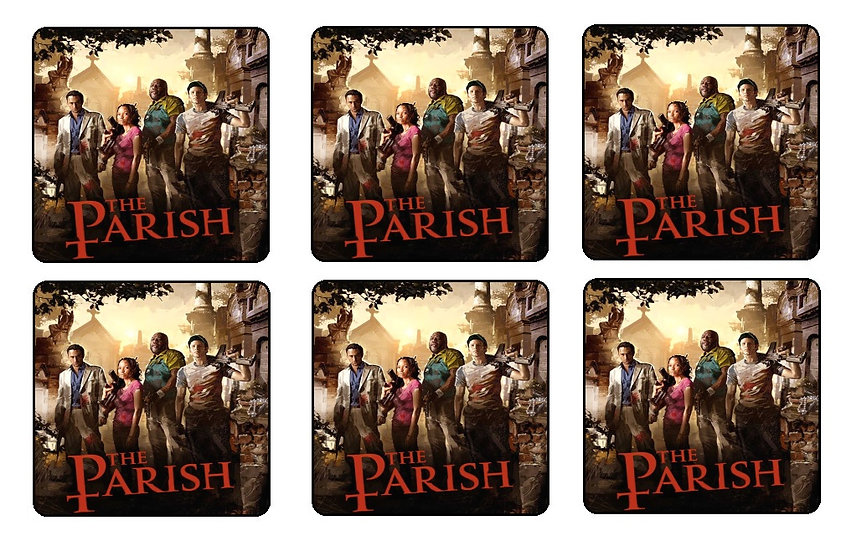 LEFT 4 DEAD THE PASSING BEVERAGE COASTERS