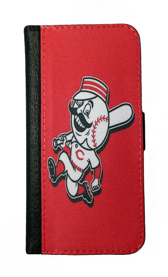 CINCINNATI REDS IPHONE OR GALAXY CELL PHONE WALLET