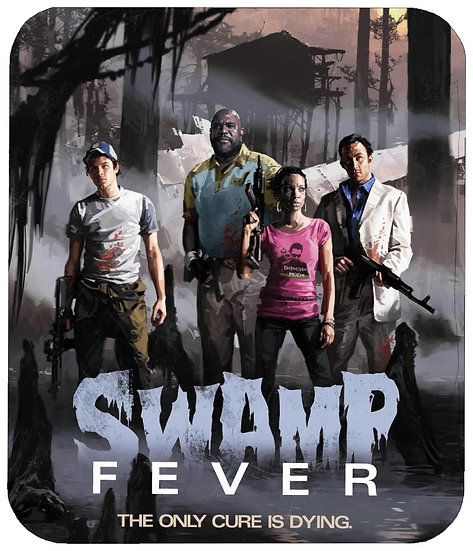 LEFT 4 DEAD 2 (SWAMP FEVER) MOUSE PAD