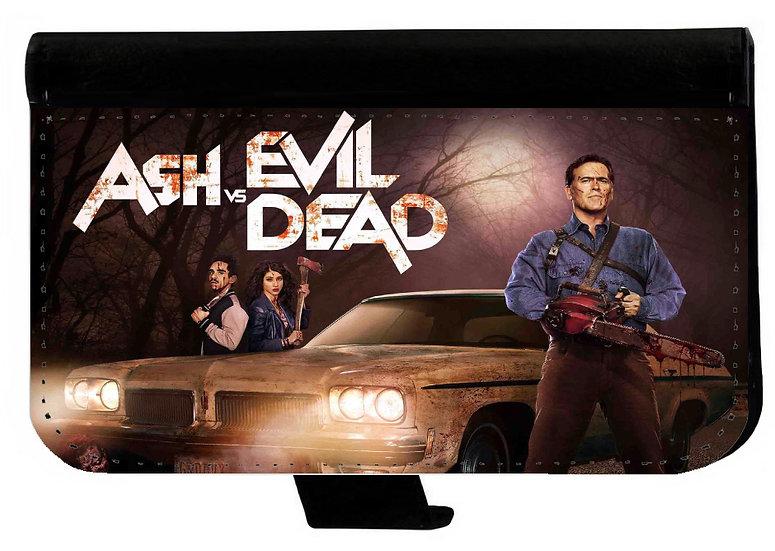 ASH VS EVIL DEAD (04) - LEATHER WALLET