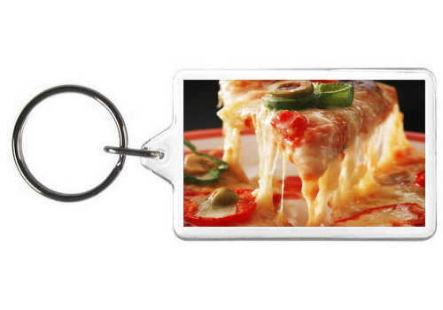 JALAPENO PIZZA KEY CHAIN