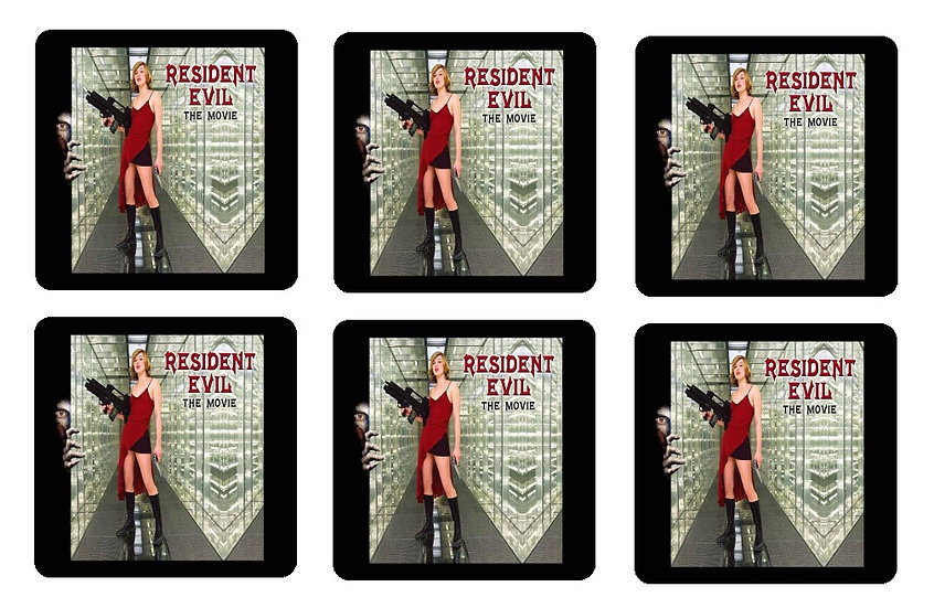RESIDENT EVIL (THE MOVIE) COASTERS