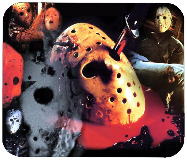 FRIDAY THE 13TH MOUSE PAD - (COL)
