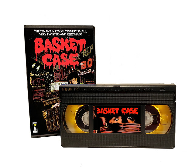 BASKET CASE VHS MOVIE NIGHT LIGHT