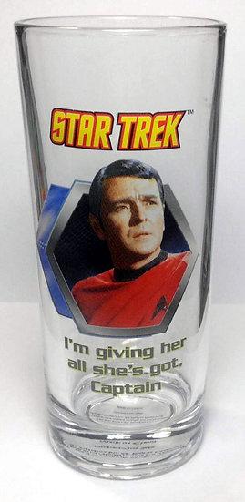 STAR TREK (SCOTTIE) - DRINKING GLASS
