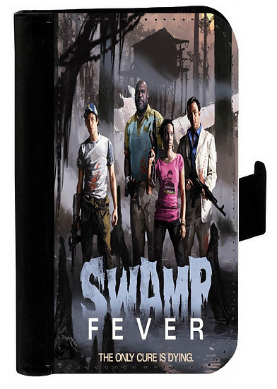 LEFT 4 DEAD SWAMP FEVER IPHONE OR GALAXY  WALLET