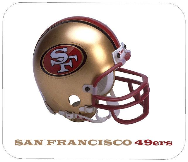 SAN FRANCISCO 49ERS MOUSE PAD - (W)