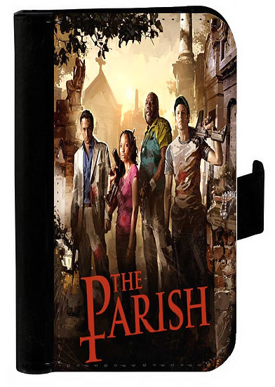 LEFT 4 DEAD (the parish) - LEATHER WALLET