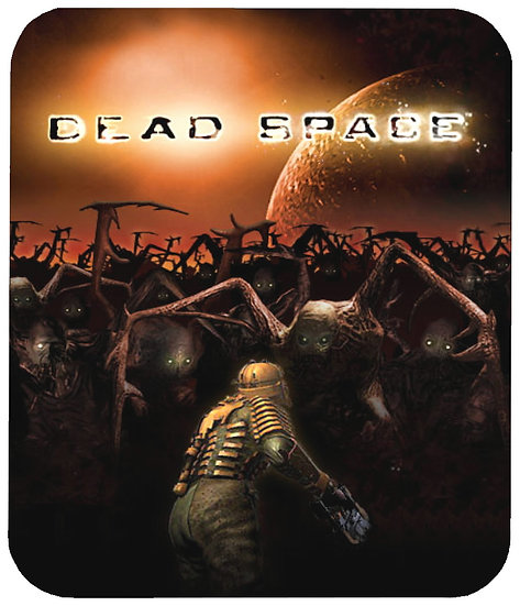DEAD SPACE MOUSE PAD - (ORIG)
