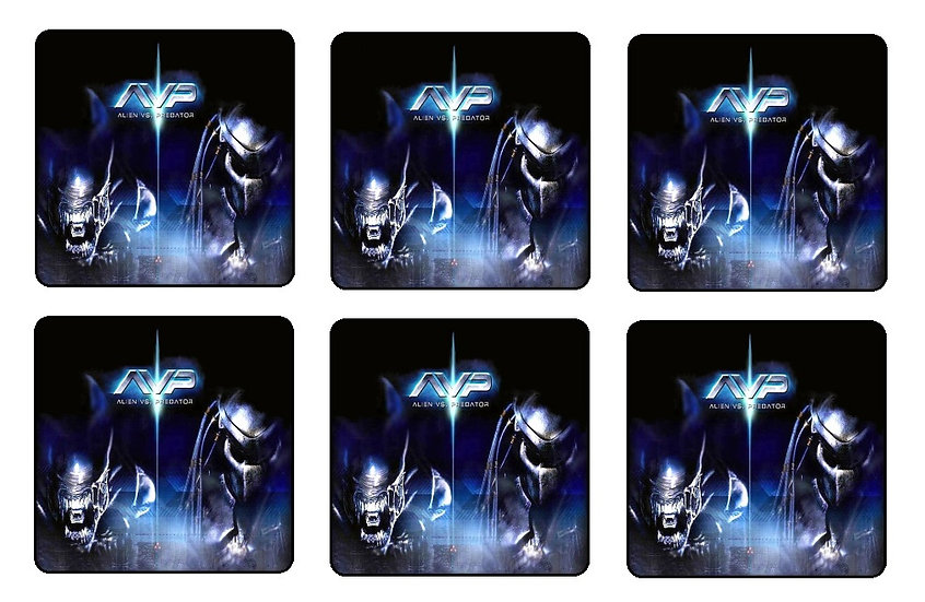 ALIEN VS PREDATOR (AVP) COASTERS