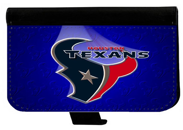 HOUSTON TEXANS (bl) - LEATHER WALLET