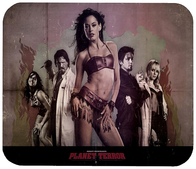 PLANET TERROR MOUSE PAD