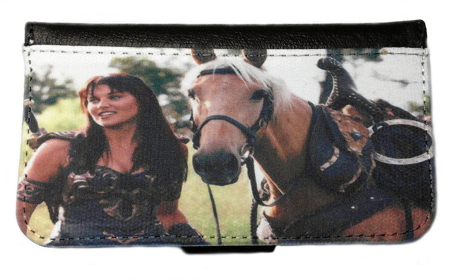 XENA AND ARGO - LEATHER WALLET