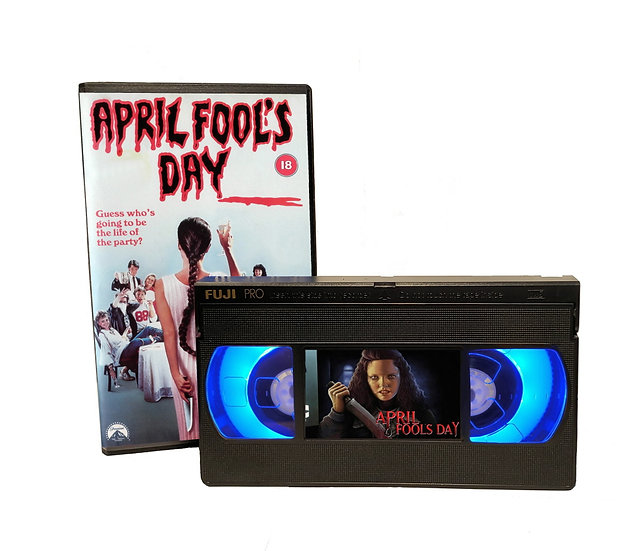 APRIL FOOLS DAY VHS MOVIE NIGHT LIGHT
