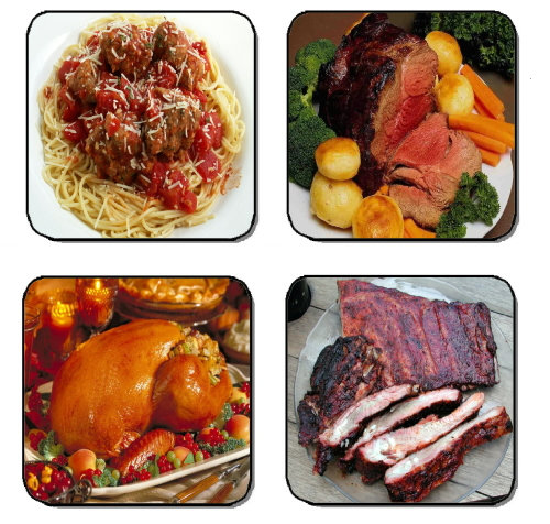 DINNER SPECIALS BEVERAGE COASTERS
