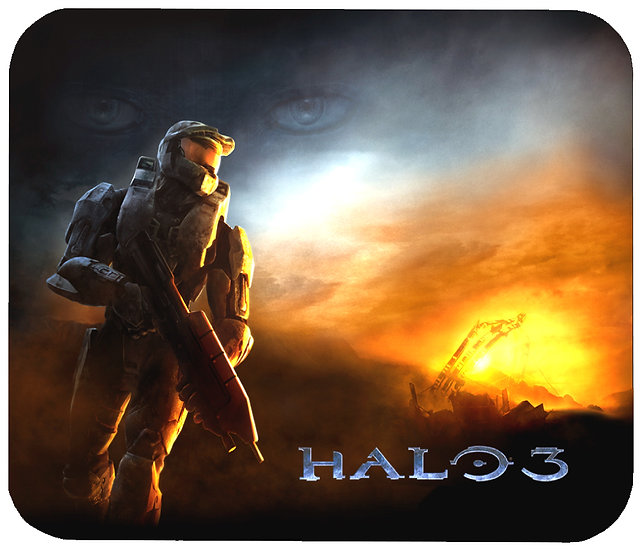 HALO 3 (SUNSET) MOUSEPAD