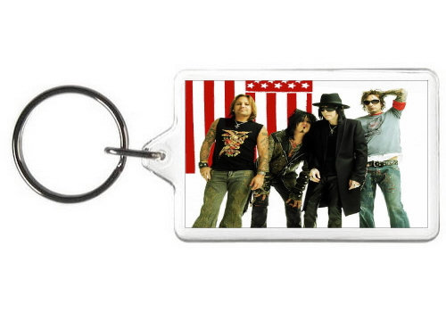 MOTLEY CRUE KEY CHAIN