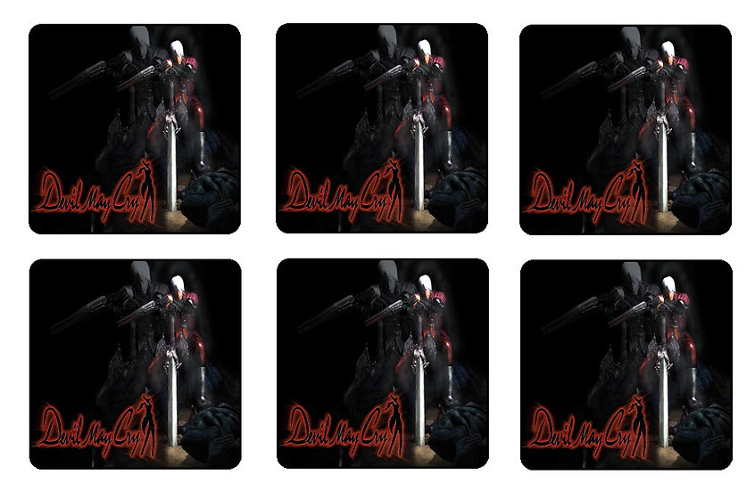 DEVIL MAY CRY BEVERAGE COASTERS