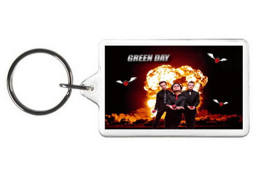 GREEN DAY KEY CHAIN
