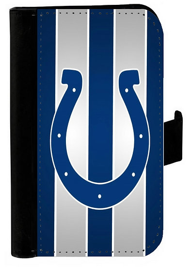 INDIANAPOLIS COLTS IPHONE OR GALAXY CELL PHONE CASE WALLET