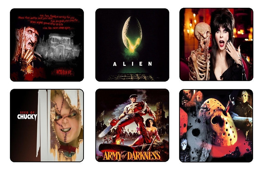 MONSTERS BEVERAGE COASTERS