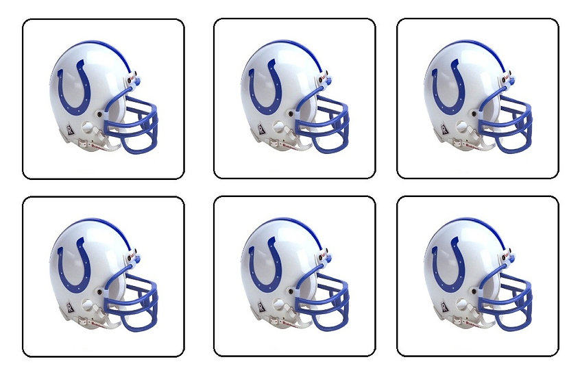 INDIANAPOLIS COLTS BEVERAGE COASTERS