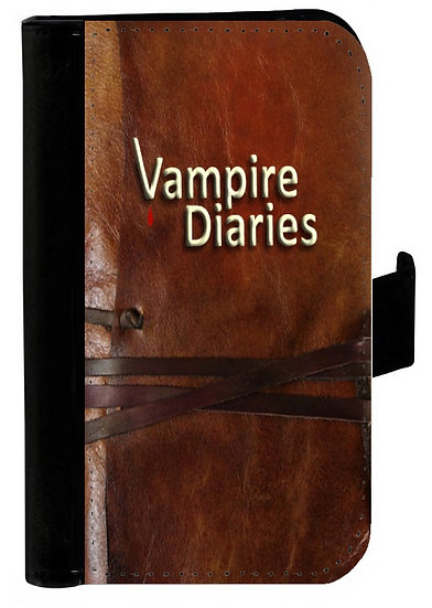 VAMPIRE DIARIES (book) - LEATHER WALLET