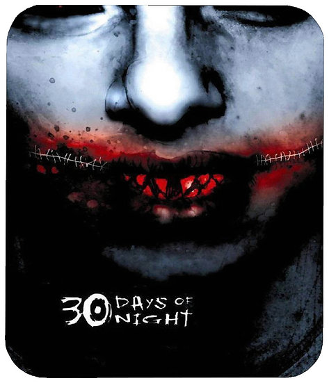 30 DAYS OF NIGHT MOUSE PAD
