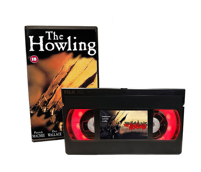 THE HOWLING VHS MOVIE NIGHT LIGHT