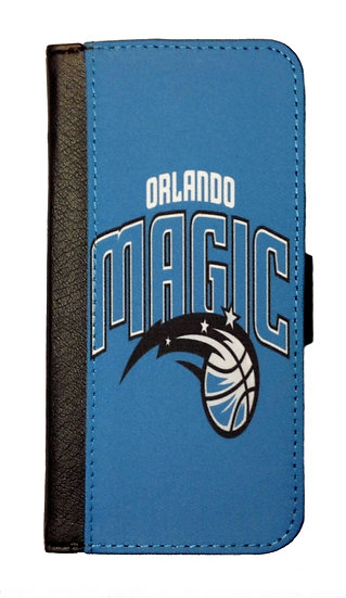 ORLANDO MAGIC IPHONE OR GALAXY CELL PHONE CASE WALLET