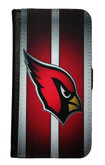 ARIZONA CARDINALS IPHONE OR GALAXY CELL PHONE CASE WALLET