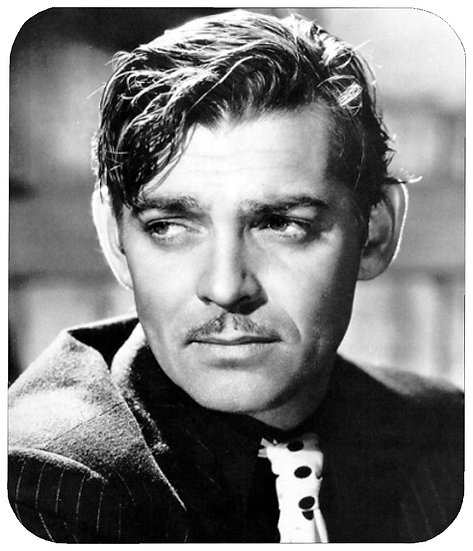 CLARK GABLE MOUSE PAD