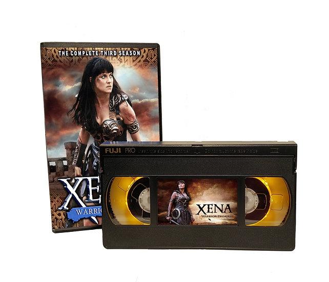 XENA WARRIOR PRINCESS VHS MOVIE NIGHT LIGHT