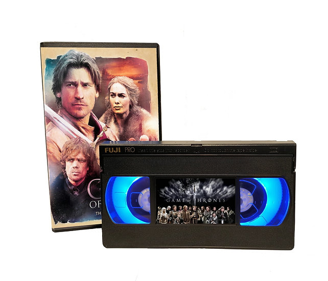 GAME OF THRONES VHS MOVIE NIGHT LIGHT