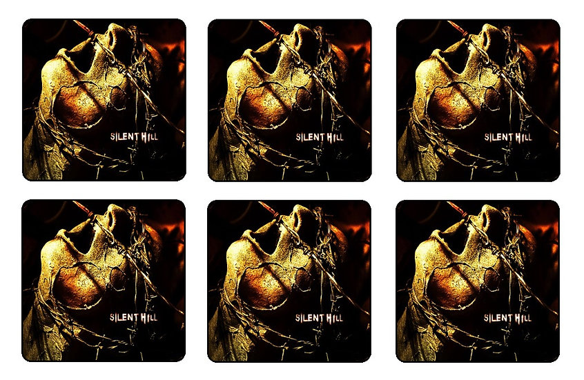 SILENT HILL BEVERAGE COASTERS