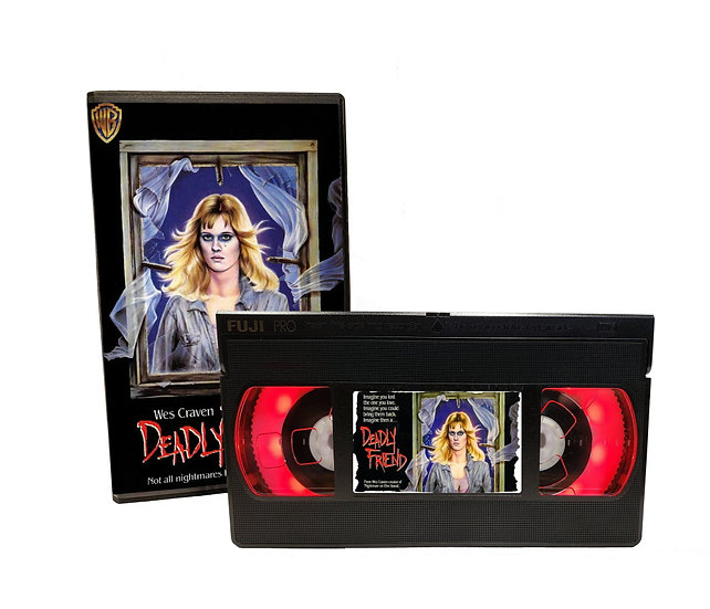 DEADLY FRIEND VHS MOVIE NIGHT LIGHT
