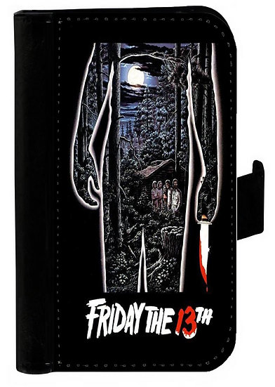 FRIDAY THE 13TH (torso) - LEATHER WALLET
