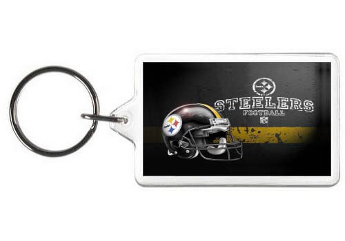 PITTSBURGH STEELERS KEY CHAIN - (HLC)