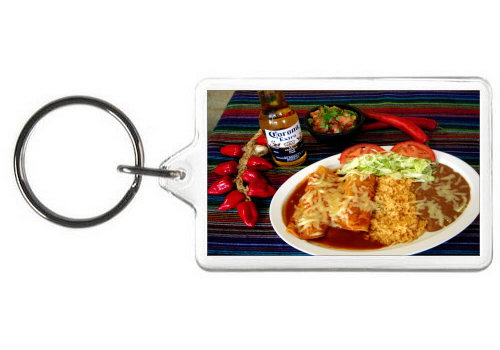ENCHILADAS KEY CHAIN