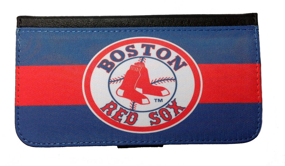 BOSTON RED SOX (rd) - LEATHER WALLET